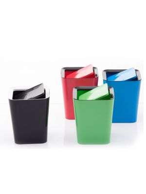 Square Waste Container with Flap
